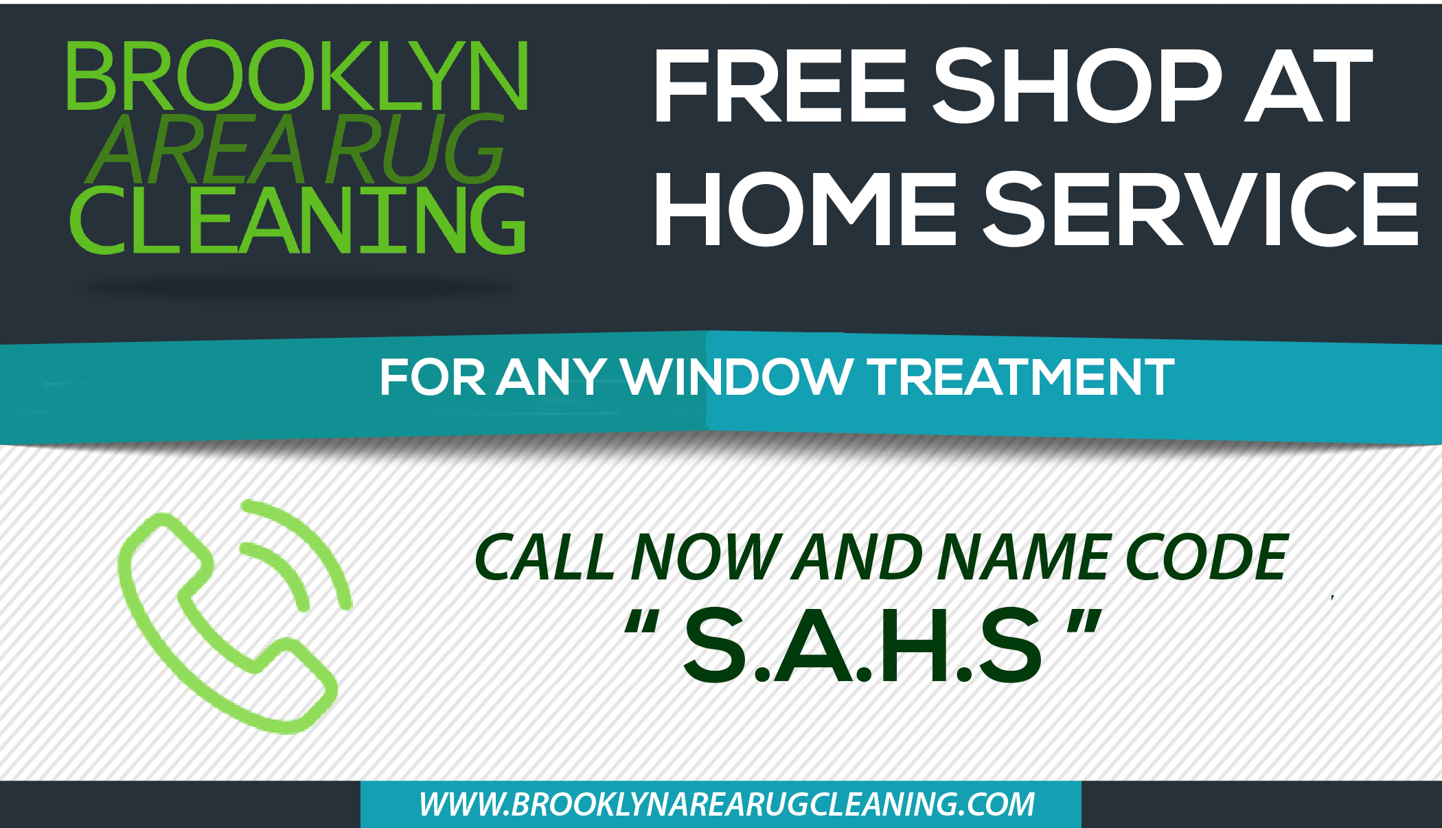 FOR ANY WINDOW TREATMENT
